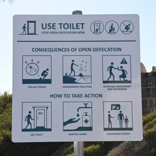 Cottesloe Beach Poop Sign Removed As It Wasn't 'Authorised'