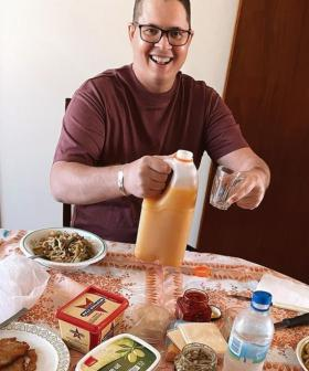 Johnny Ruffo Gives Cancer Update As He Enjoys A 'Food Coma' At His Nonna's in Perth