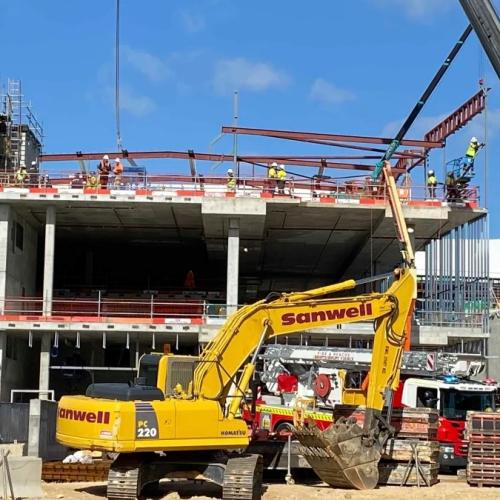 Spinal Fears After Worker, 18, Falls At Karrinyup Shopping Centre Worksite
