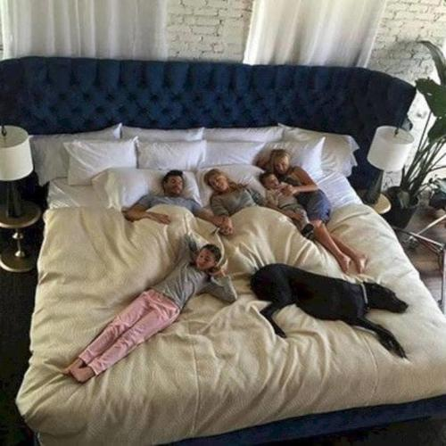 A Mega-Giant 'Family Bed' Exists & I'm Already Having Fitted Sheet Anxiety