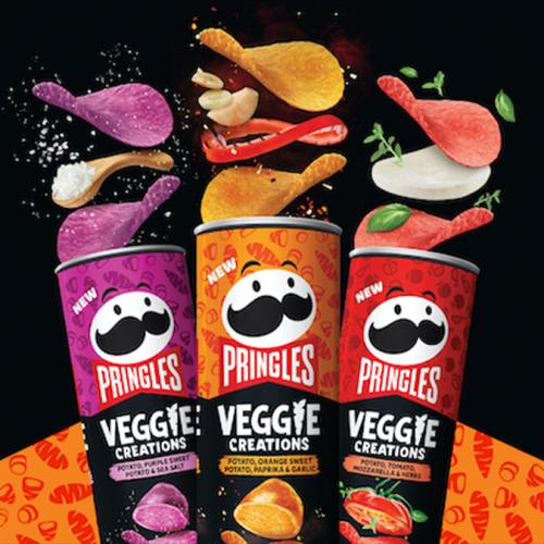 Pringles Drop A New VEGGIE Range & Surely That Counts As Our Daily Veg Intake, Right?