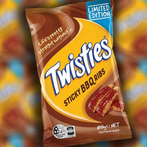 Twisties Have Just Created 'Sticky BBQ Ribs' Flavour & We Don't Know What's Real Anymore