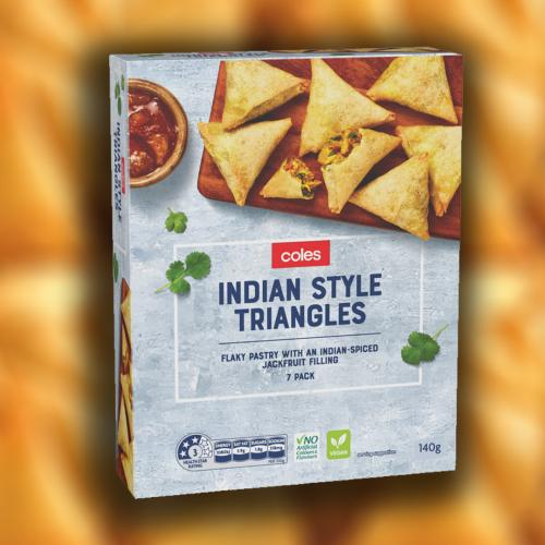 Coles Now Have 'Indian Style Triangles' And Why Not Just Call Them Samosas