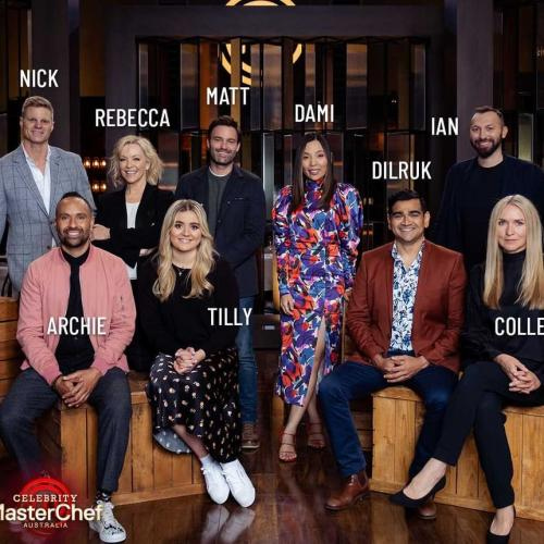 The Cast For Celebrity MasterChef Dropped & Yo, That's Gordon Ramsay's Daughter!