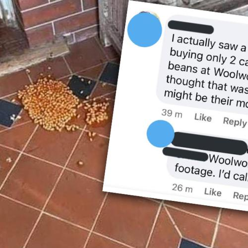 Apparently There's A 'Baked Bean Bandit' In Perth's Mt Hawthorn