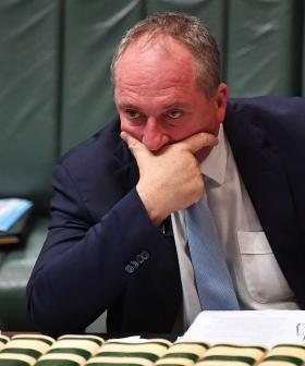 Deputy PM Barnaby Joyce Fined For Not Wearing A Mask