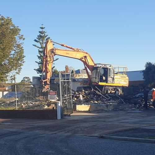 That Quirky 1970s Midland Brick Building In North Perth Has Been Demolished