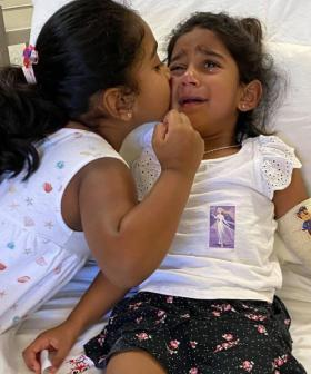 Youngest Daughter Of Biloela Family Rushed To Perth Over 'Untreated Pneumonia'