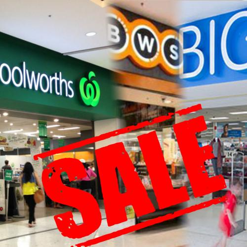 Woolworths, BWS, Dan Murphy's & Big W Launch HUGE 48 Hour Sale!