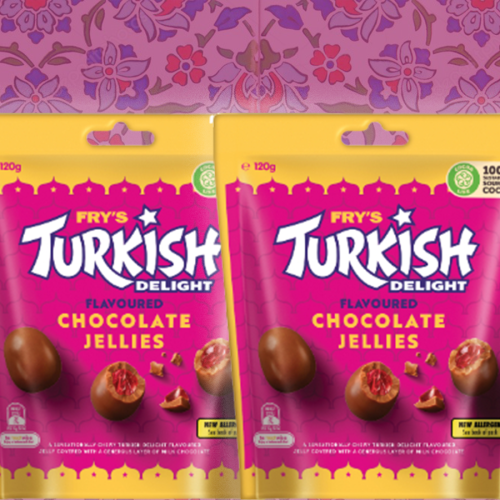 Turkish Delight Comes In Choccie Covered Bite Sized Jellies Now!