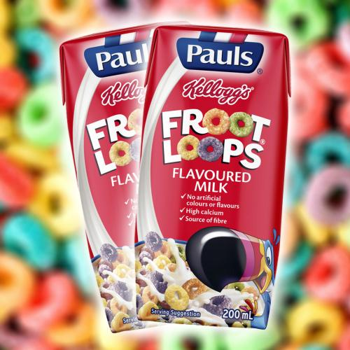 You Can Now Get The Froot Loops Flavoured Milk That No One Asked For