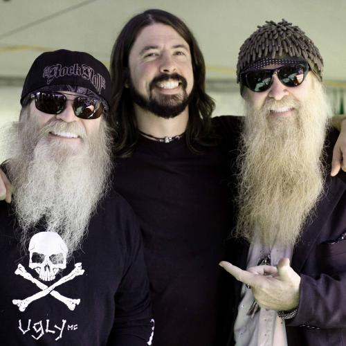 Foo Fighters Pay Tribute To ZZ Top's Dusty Hill During Concert