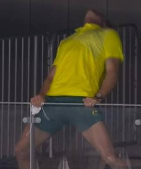Olympic-Goers Told To Chill Celebrations After Aussie Swim Coach Goes 'Full Boxall'