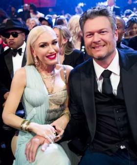 Gwen Stefani Shares Sweet Family Wedding Pic With Sons & Blake Shelton