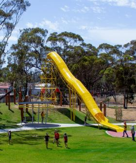 There's A Park In WA That Actually Has Giant Scaled-Up Playground Equipment For Adults