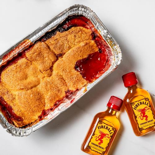 We Have The Recipe To Make Fireball Whisky's Official Butterscotch Winter Cobbler!