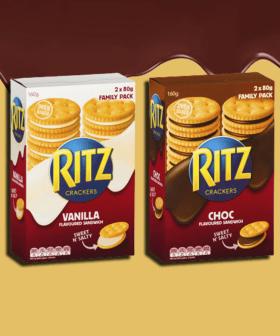 Ritz Have Released A Chocolate Sandwich Cracker Range