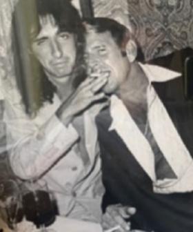 Elton John & Alice Cooper Recreate Iconic Photo 50 Years Apart