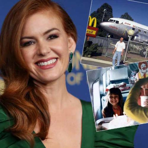 Isla Fisher Says 'Nothing Will Beat' Having Her Birthday At Macca's In Midland