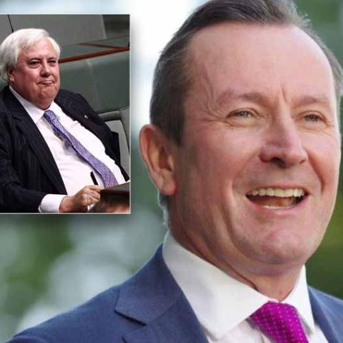 'He Seems Obsessed With Me': McGowan To 'Ignore' Palmer's Latest Threat Against WA