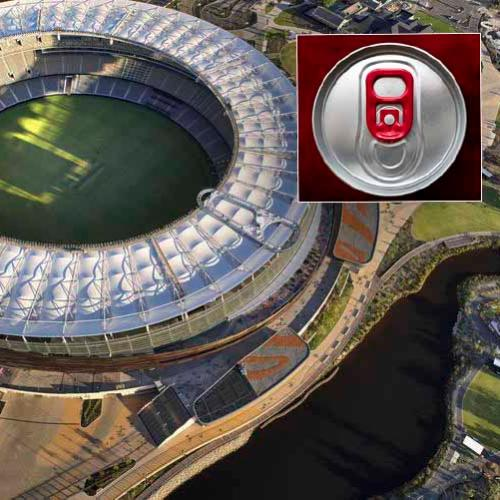 The Stadium's New Halo Rooftop Walk Looks Like A Giant Ring Pull & We Can't Unsee It