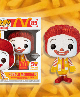 Macca's Have Dropped Limited Edition Glittery Ronald McDonald Funko Pop Figurines!