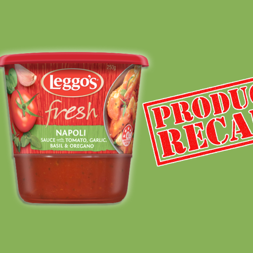 URGENT RECALL: Woolworths Recalling Leggo's Fresh Napoli Sauce