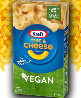 Kraft Have Krafted A Vegan Mac & Cheese, Hints At More 'Things To Come'