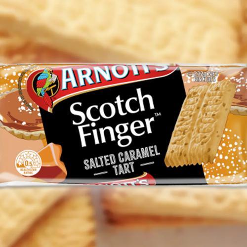 Arnott's Have Just Released Salted Caramel Tart Flavoured Scotch Finger Biscuits