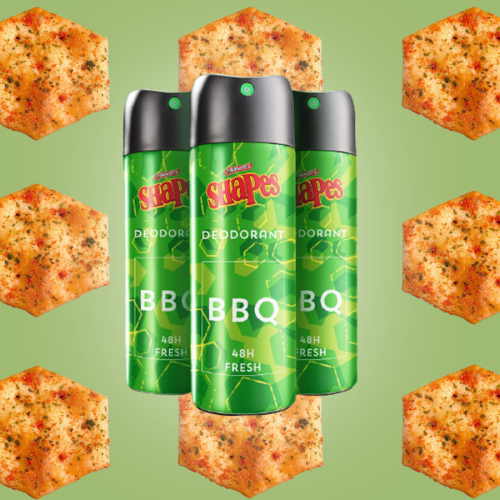 What Are They Smoking In The Arnott's Factory? Would You Buy BBQ Shapes Deodorant?