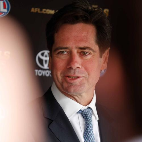 We Jokingly Asked Gillon McLachlan For His Grand Final Tip… & He Unexpectedly Blurted It Out