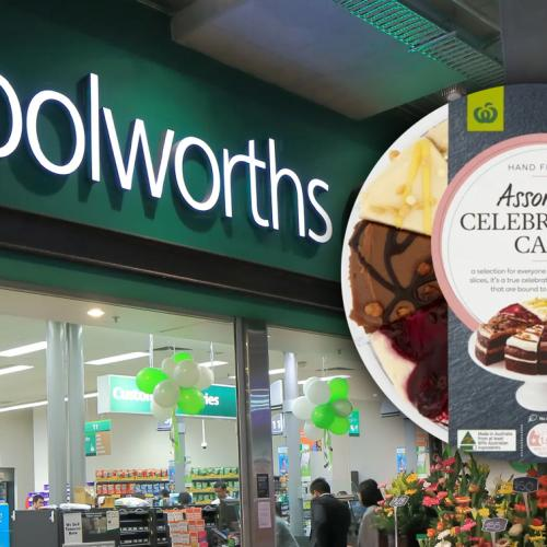 The Internet Is Losing Its MIND Over This $30 Woolies Cake