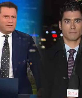WA Reporter 'Deer In Headlights' After Karl Stefanovic Calls Him Out Live On Air