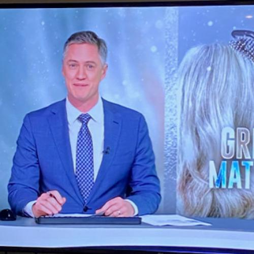 Watch Seven's Tim McMillan Almost Lose It Over This News Report On Grey Hair